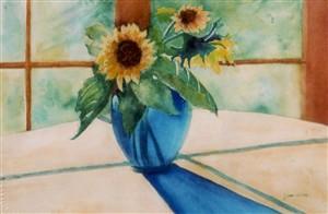 Joanne Sonsire's watercolor artwork